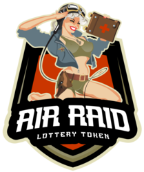 AirRaid Lottery Token